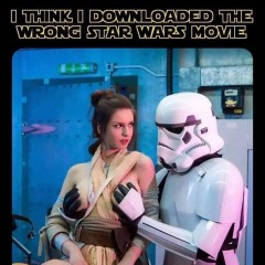 I think i downloaded the wrong Star Wars movie